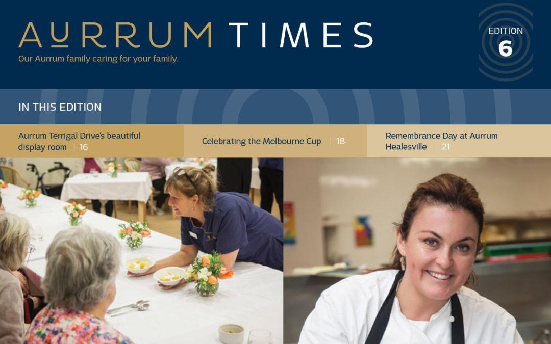 Aurrum Times Issue 6