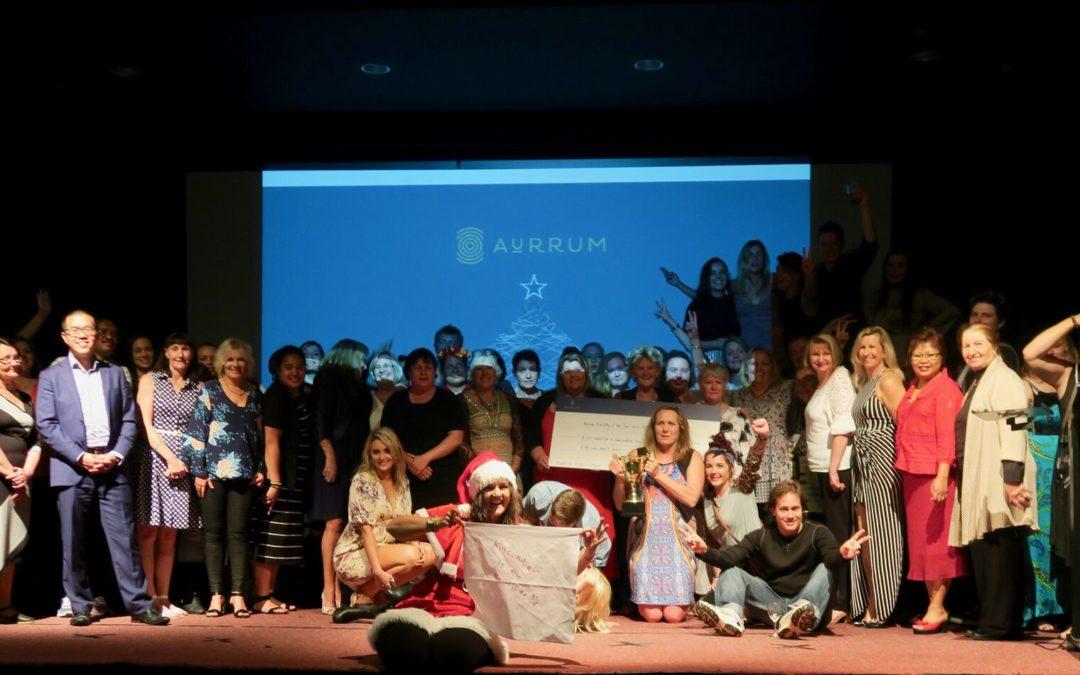 Aurrum Christmas Party awards