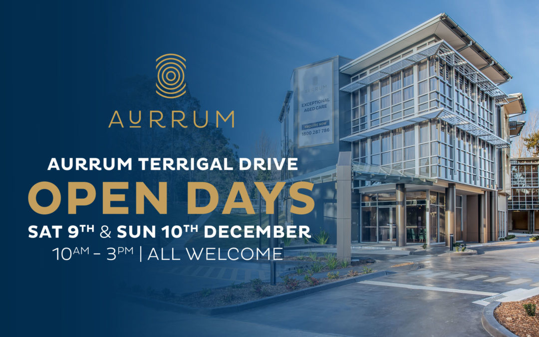 Aurrum Terrigal Drive is holding open days on Saturday 9th and Sunday 10th December