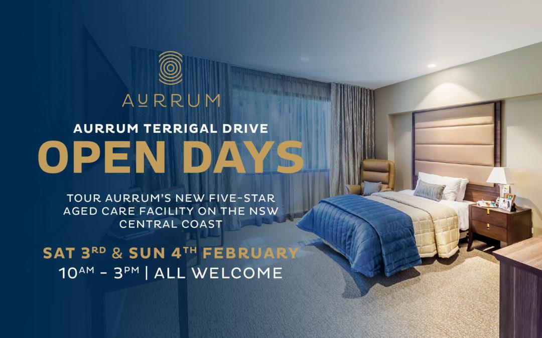 Aurrum Terrigal Drive Open Days