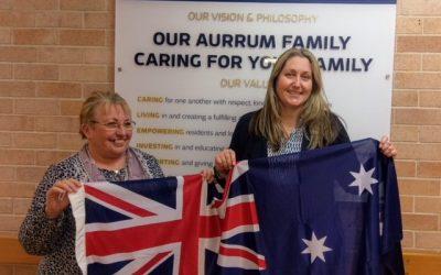 Emma McBride MP visits Aurrum Norah Head