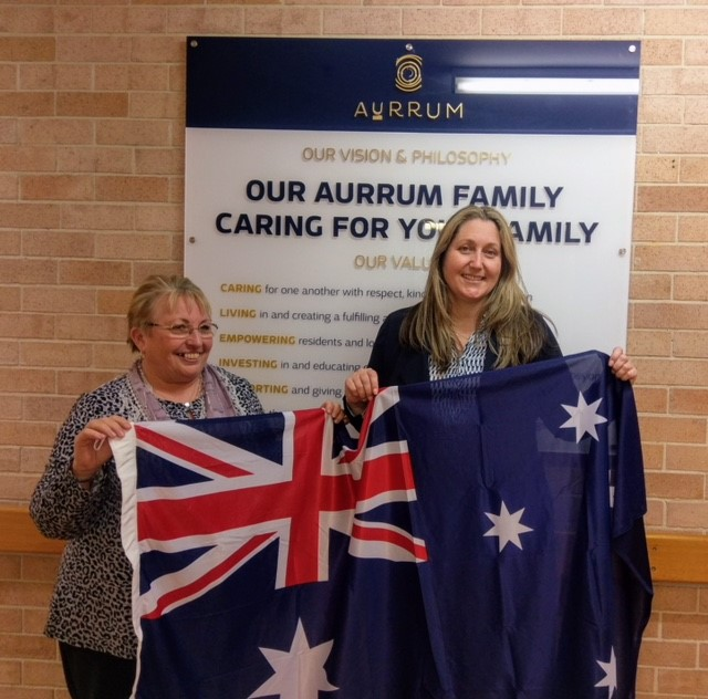 Emma McBride MP visits Aurrum Norah Head