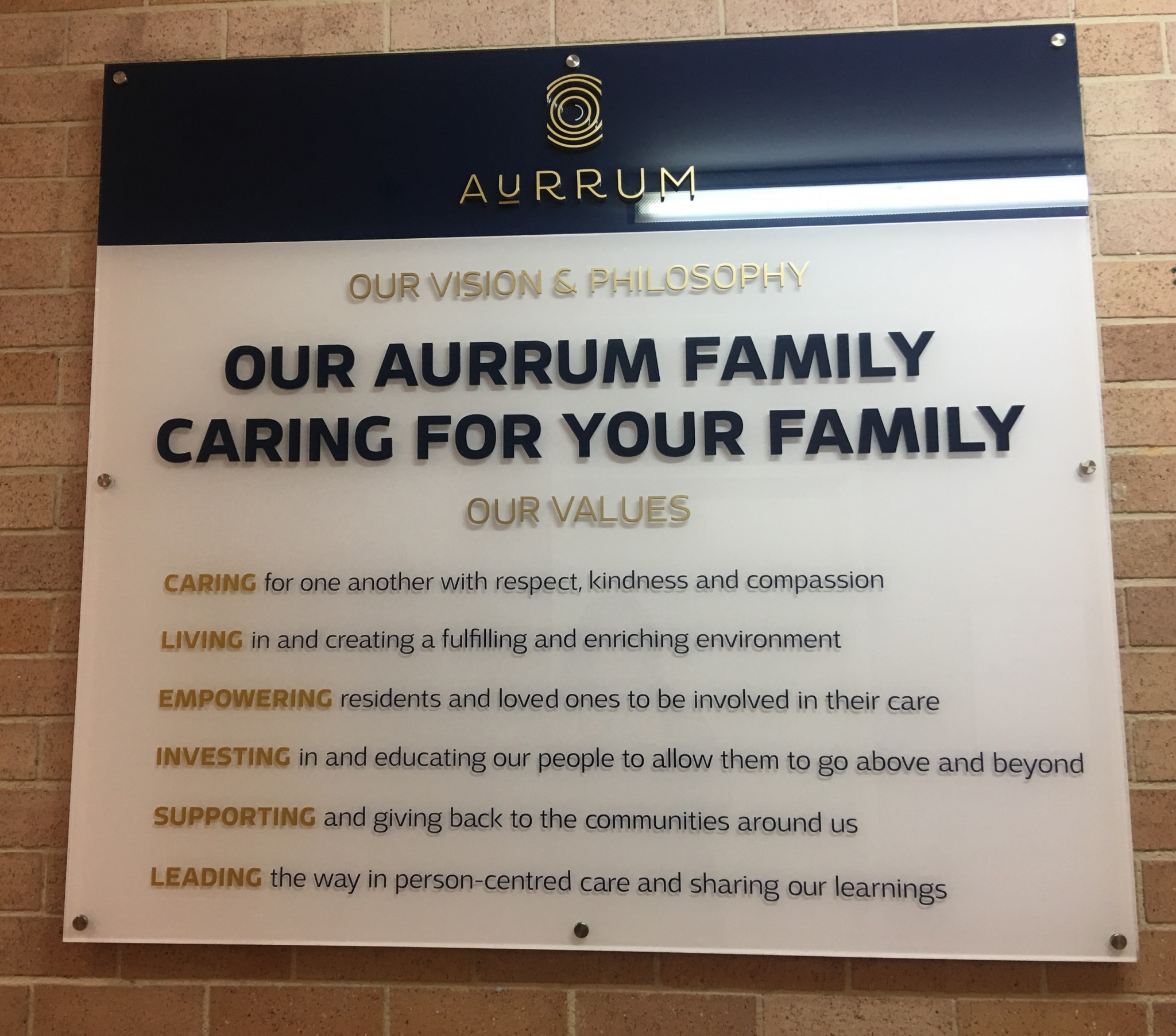 Aurrum values