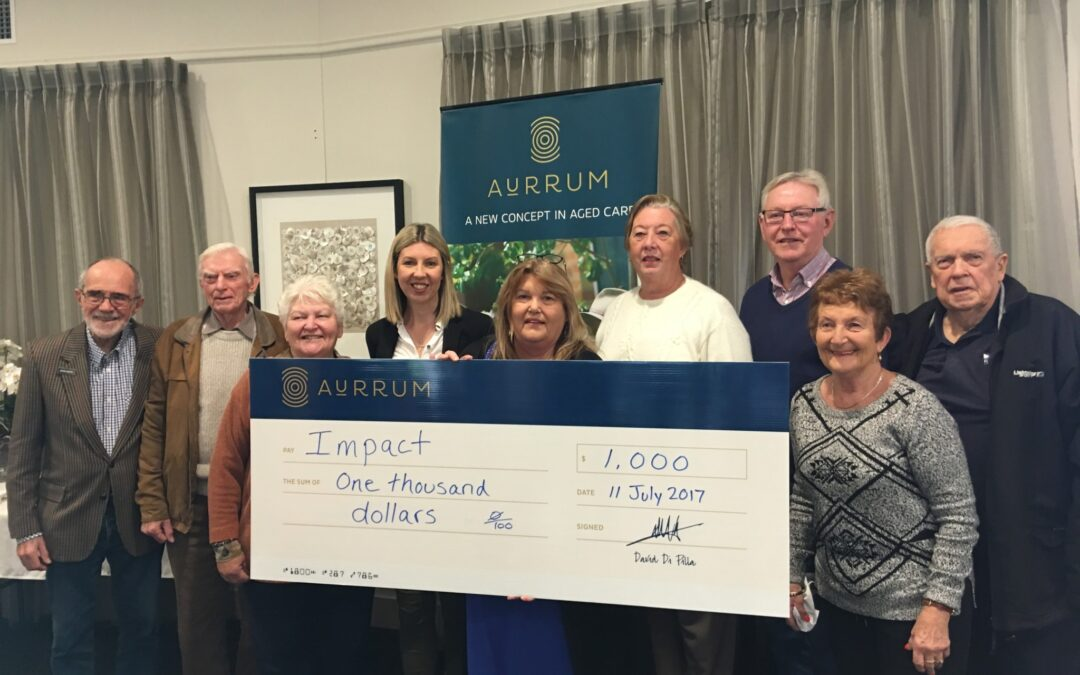 Aurrum Erina Donates with Impact to Community